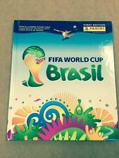 2014 FIFA World Cup Brasil Hard Cover Sticker Album 1st Edition Soccer