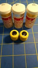 Jet J7 3 Pairs .770 tall 3/32 axle Yellow Big Hub Colored Rubber  Mid America