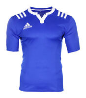 Adidas Rugby T-Shirt Climacool Climalite blau Gr. M Fitnesshirt Training Team