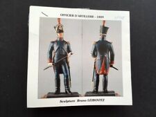 """Toy Soldiers 54mm """"Metal Modeles"""" Napoleonic French Officier d'Artillerie 1809"""