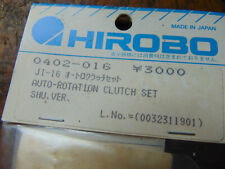 HIROBO SHUTTLE AUTO-ROTATION CLUTCH SET 0402-016 BNIB