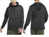 NWT Nike Veneer Therma Fit Full Zip Training Jacket Hoodie (Grey,S)