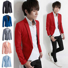 Unbranded Cotton Blend One Button Suits & Tailoring for Men