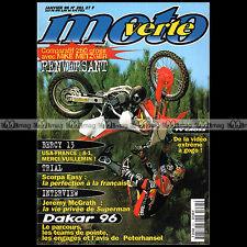 MOTO VERTE N°261-b MIKE METZGER JEAN-MICHEL BAYLE YAMAHA YZ WR 250 KTM SX 1996