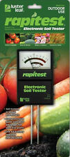RapiTest Garden Soil PH & Fertility Tester Meter Analyzer NEW 1860 Luster Leaf