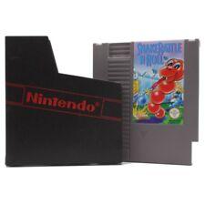Nintendo Nes Jeux Serpent Rattle -- ´ Rock'N Roll Module Pochette