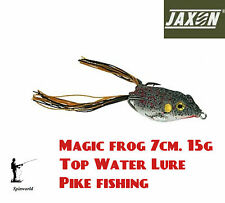 Jaxon Magic Frog TOP WATER FISHING LURE 7cm. 15g. jerkbait pike lure 05E