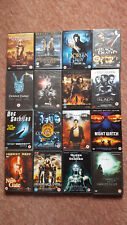 16 x DVD's of Supernatural Films:- Blade, Dog Soldiers, The Ninth Gate...