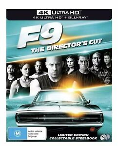 Fast & Furious 4K UHD & Blu ray Steelbook RB Brand new & sealed