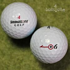 100 Bridgestone e6 Golfbälle AAAA Lakeballs in Top-Qualität e 6 Golf Bälle weiß