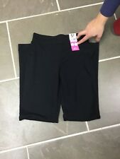 BNWT George By Adsa Girls Long Leg Black School Trousers, Age 10-11yrs