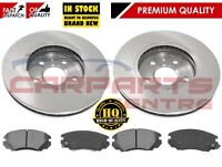 FOR VAUXHALL INSIGNIA 13-17 FRONT VENTED BRAKE DISCS & PADS 321mm