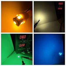 (10) Wedge Base 8V LED/KR-7050-3090 2090 8050/KA-6100-9100/Vintage Messgerät Receiver