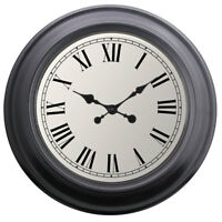 Extra Large Wall Clocks Traditional Home Decor Round Roman Wall Clock 52cm NEW