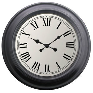FabFinds Extra Large Wall Clocks Traditional Home Decor Round Roman Clock 52cm