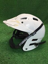 Cascade Clh2 Lacrosse White Helmet Xs Extra Small Adjustable Fast Shipping