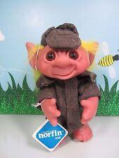 "1977 SHERLUCK - 9"" Dam Troll Doll - Made In Denmark"