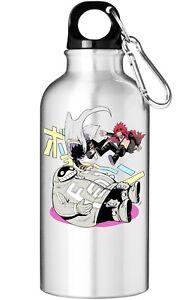 My Hero Academia Team Fat Gum Kirishima Suneater Water Bottle With Carabiner
