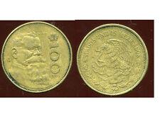 MEXIQUE 100 pesos 1989  ( bis )