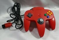 Official Nintendo 64 Controller Red N64 NUS-005 Tested as Working
