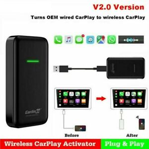Carlinkit V2.0 Bluetooth USB Activator for Car Wired to Wireless Carpaly Module