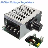 4000W 220V AC SCR Voltage Regulator Dimmer Motor Speed Controller Module ❤