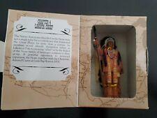 Legends Of The Plains Ornament Vol 1 Native Americans Ch 4 Lakota Chief Rare!