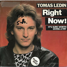 "Tomas Ledin ""Rght now!"" English version Eurovision Sweden 1980"