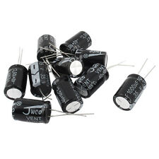 10 Pcs 35V 1000uF 105C Radial Lead Electrolytic Capacitor 13mm x 20mm