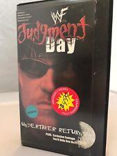 WWF Judgement Day Undertaker Returns 2000 VHS The Rock Triple H Jericho WWE