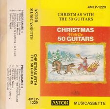 CHRISTMAS WITH THE 50 GUITARS - Cassette - Tape   SirH70