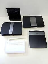 LOT of 6 Asus N12/N56U + Linksys E2500/E4200/EA6500 routers *READ* PARTS/REPAIR