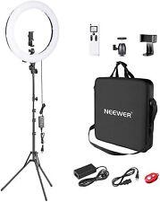 Neewer Advanced Bague Lumière LED 2,4G 48cm Réglable Ecran LCD Et Manette Fb
