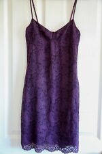 WILFRED aritzia bodycon dress lace purple/plum size XS