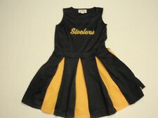 Pittsburgh Steelers Cheer Kids One Piece Cheerleader Outfit Girls Size 8