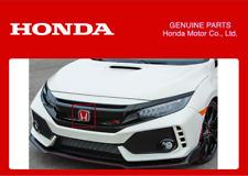 Griglia ANTERIORE ORIGINALE HONDA ROSSO H Emblema Civic Tipo R FK8 2017+