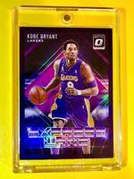 Kobe Bryant OPTIC HOLO PURPLE PRIZM EXPRESS LANE SPECIAL INSERT HOT LAKERS Mint!