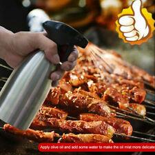 Oil Sprayer Stainless Steel Bottle Kitchen Gadget Cooking BBQ Spray Dispenser