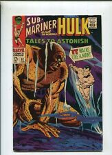 Tales To Astonish #92 Fine+ Sub-Mariner And Incredible Hulk Marvel Comic CBX2B