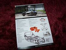 Feuillet pub / Single Sheet Brochure   GBS Zero (Ford Engines) 2015 //