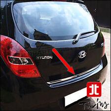 Striscia cromata portellone baule Hyundai i20 profilo cromato portabagagli 09-13