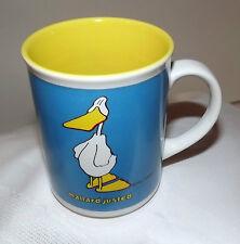 "DUCK TALES by JOHN BARON 1985 MUG CUP ENESCO ""MALLARD JUSTED"" HUMOROUS MUG/ CUP"