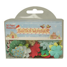 Helz Cuppleditch Santa's Workshop Paper Blossoms