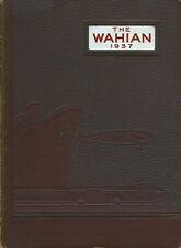 1937 Waynesboro Pennsylvania High School Yearbook