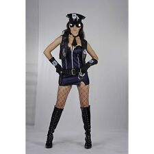 Police Lady Adult Costume, Women's Sexy Fancy Dress, Parties, Hen Nights AC838