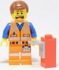 NEW LEGO MOVIE EMMET MINIFIG minifigure with Piece of Resistance figure 70809