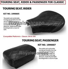 100 Genuine Royal ENFIELD Touring Seat Rider & Passenger for Classic 350 & 500