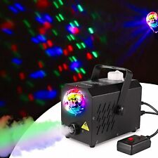 More details for 500w smoke fog machine w/remote effect dj disco stage holiday party ce approal