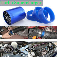 "2.5"" Gas Fuel Turbo Saver Fan Supercharger Air Intake Turbonator For Land Rover"