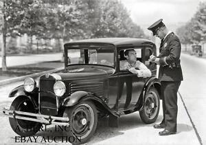 American Austin Business Coupe 1930 Buster Keaton photo photograph press photo